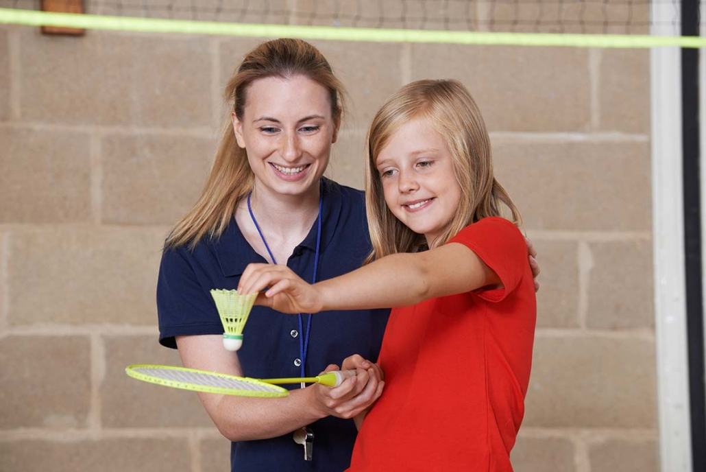 teacher training in sports coaching at primary schools
